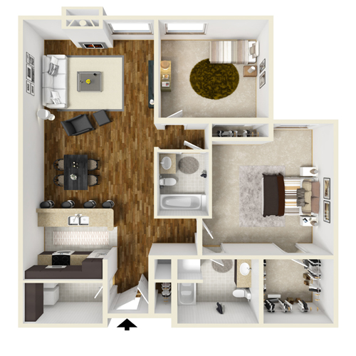 Two-Bedroom C