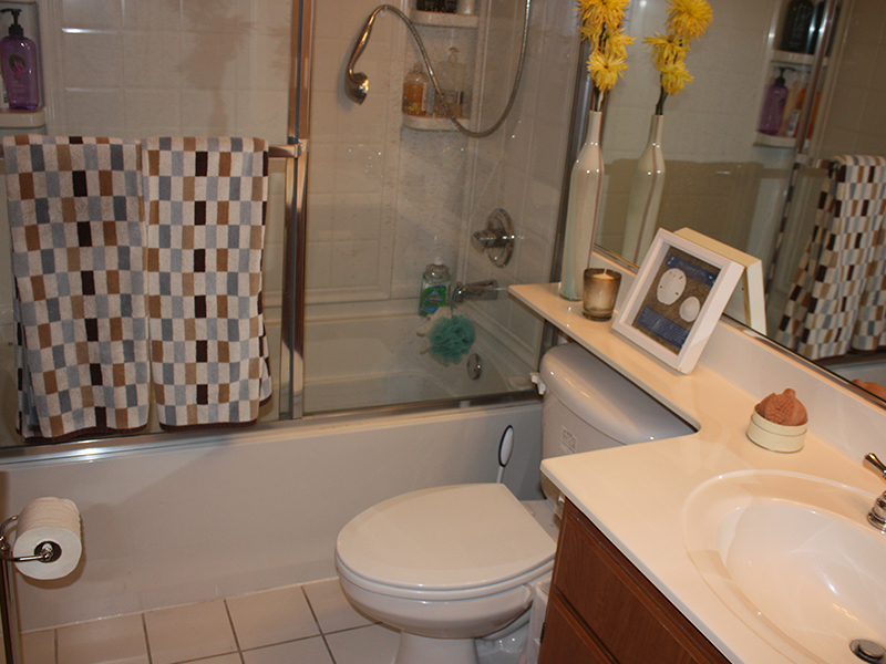 Large Bathroom with Storage